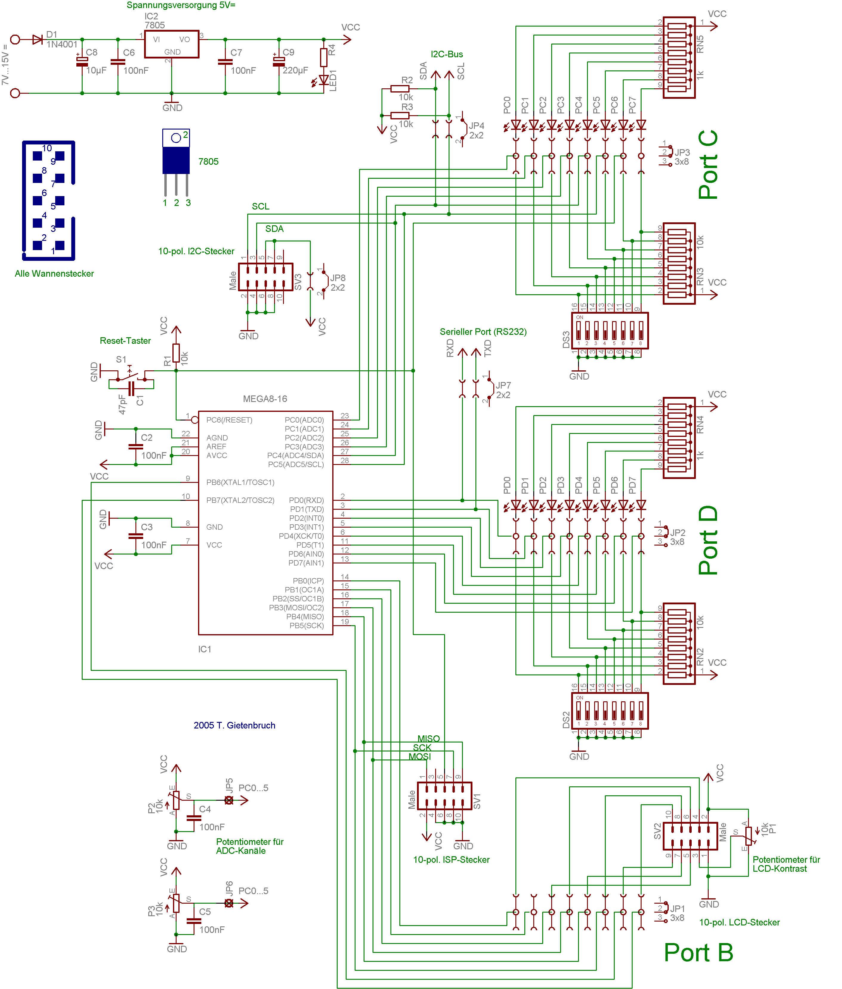 Teil 2: Das Experimentierboard - Experimentierumgebung selbstgebaut ...