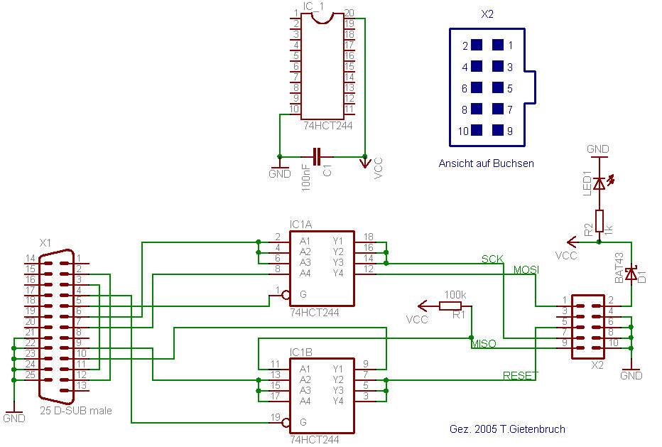 Teil 1: Der ISP-Adapter - Experimentierumgebung selbstgebaut ...